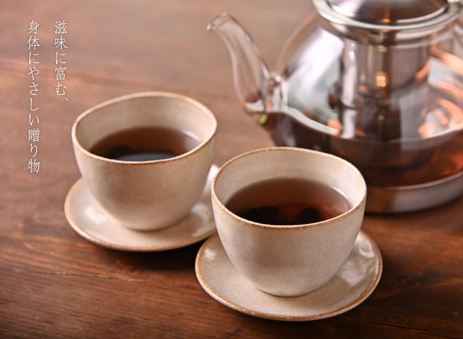 黒豆茶ギフトなら寛永堂の黒豆茶。滋味に富む、身体にやさしい贈り物
